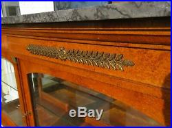 Good Quality French Display Case Vitreen Cabinet Collectors Cabinet Shop Fitting