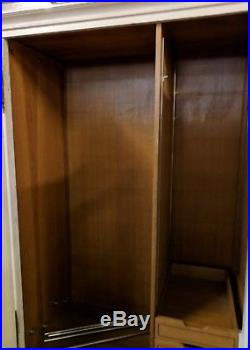 HUGE 3MTRS Long Vintage French PAINTED 5 Door Drawer Armoire Wardrobe Flat Pack