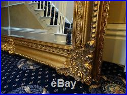HUGE Extra Large gold gilt French antique style Wall leaner mirror 240cm
