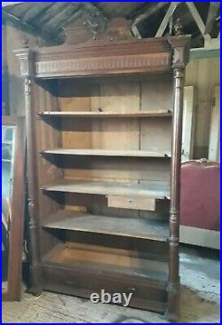 Impressive antique French armoire