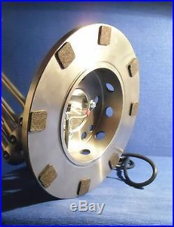 Jielde Beautiful French Industrial Jielde Lamp 5 Arms Polished Brush Steel
