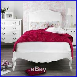 Juliette Shabby Chic White 3ft Single Bed, Stunning French white single bed