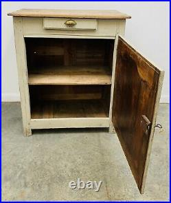 LOVELY ANTIQUE 19th CENTURY FRENCH COUNTRY OAK SIDEBOARD CUPBOARD, C1900