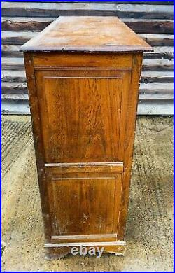 LOVELY ANTIQUE FRENCH 19th CENTURY OAK BUFFET CUPBOARD, C1900