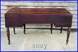 LOVELY LARGE SCALE ANTIQUE 19th CENTURY MAHOGANY FRENCH DESK, C1900