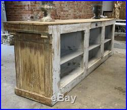 Large 19th Century French Napoleon III Shop Counter