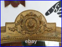 Large 19th Century Gilt Framed French Mirror. Vintage/Antique/Decorative