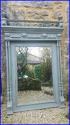 Large French Antique Mirror