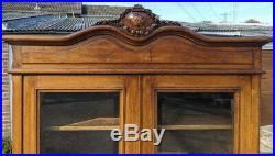 Large Impressive Antique French Bookcase/ Cabinet / Cupboard /Sideboard