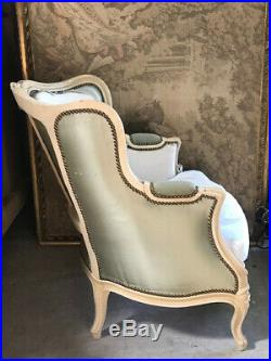 Large Original Vintage French Bergere / Fauteuil Armchair