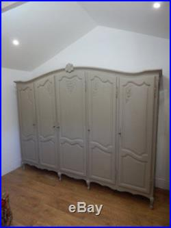Large vintage French armoire