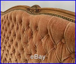 Louis XV Barok Vintage French SUPER King Size Bed 160 cm x 200 cm