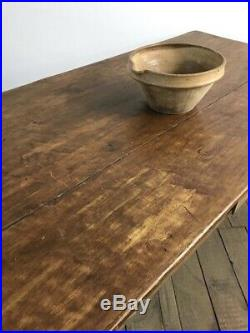 Lovely Antique French Country Farmhouse Kitchen Dining Table