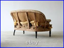 Napoleon III Sofa, French 19th Century, for Reupholstery