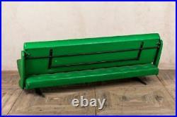 ORIGINAL LIME GREEN VINYL 1970s FRENCH FOLDING RETRO SOFA BED