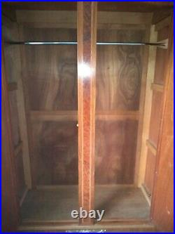 (Paid £670 for this in 2002) Beautiful Antique French double mirrored wardrobe