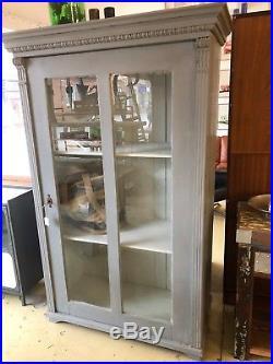 Painted Vintage French cabinet, Cupboard, Storage, Display