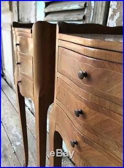 Pair Of French Louis XV Style Bedside Tables