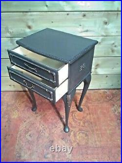 Pair Of Vintage French Style Bedside Tables / Pair Bedside Chests
