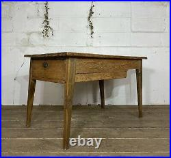 Pine And Fruitwood French Prep Table Circa 1890
