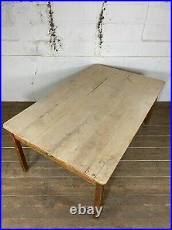 Pine French Farmhouse Kitchen Table C. 1900