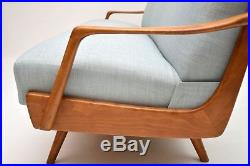 RETRO FRENCH SOFA BED VINTAGE 1950's NEWLY UPHOLSTERED