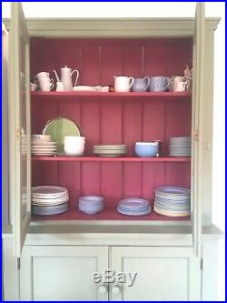 Rustic Antique French Kitchen Dresser / Display cabinet