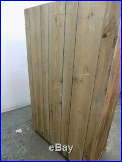 Shabby chic, continental, vintage, French, pine, double door, wardrobe, hanging rail