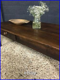 Superb Antique French Country Farmhouse Cherrywood Coffee Table