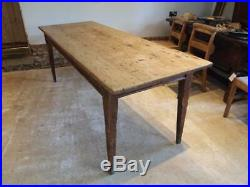 Table Pine refectory French style farmhouse dining 19th century and later