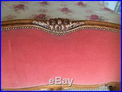 VINTAGE FRENCH KINGSIZE REVIVAL CORBIELLE BED 5Ft 6