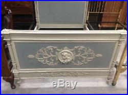 Victorian French Double Bed Good Carving Very Rare Design