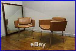 Vintage 1960s Bardot Chairs By Pierre Guariche French Mid-Century design 50s