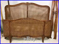 Vintage Cane French Double Bed g111