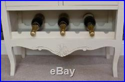 Vintage Display Cabinet Small Wine Sideboard Antique French Storage Furniture