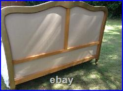 Vintage French Bed Frame Demi Corbeille King Width Uk Double Eu Size