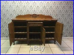 Vintage French Louis XV Oak Carved sideboard