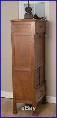 Vintage French Oak Secretaire, Bureau, Writing Desk