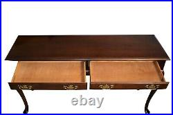 Vintage Hammary French Styled Brass Drawer Classical Writing Desk
