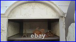 Vintage Painted Large Double French Wardrobe Shabby Chic CAN ARRANGE COURIER