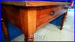 Vintage french table. Console, prep table or office desk