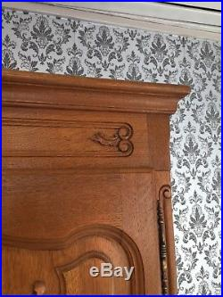 Wardrobe 5 door Oak Louis XV, French style, delivery possible