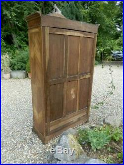 Wardrobe, French, walnut, antique, easily dismantled, excellent condition