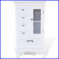 White French Style Cabinet Antique Hallway Sideboard Storage Chic Room Furniture