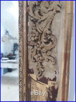 Wonderful Distressed French Mercury Mirror